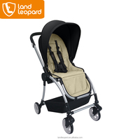 Worldwide exported land Leopard baby carriages supplied smart seat with breakthrough comfort and convenient features