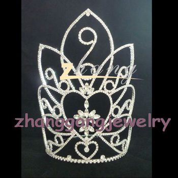 HOT! beauty desgined party and pageant crown china