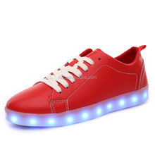Wholesale cheaper leisure shoes light up adult shoes have in stock