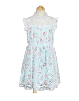 < 11.11 Promotion > 2016 Cream Flower Girl Dresses Little Girls Cotton Summer Dresses Dress Desgins Teenage Girls