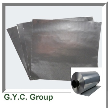 Graphene coated aluminum foil current collector