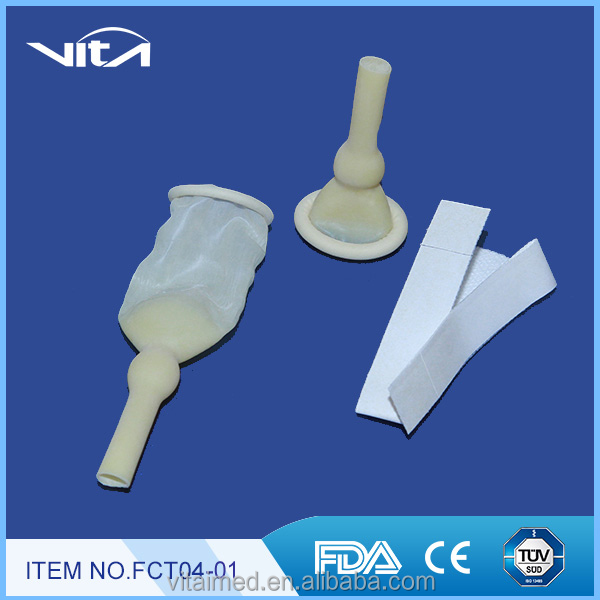 Male External Catheter Sterilized with ethylene oxide FCT04