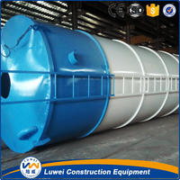 100 ton welded type cement silo in concrete batching plant