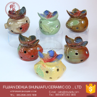 Fruits Design Home Decor Ceramic Candle Holder , Oil Incense Burner