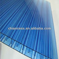 multilayer polycarbonate hollow X structure blue pc sheet