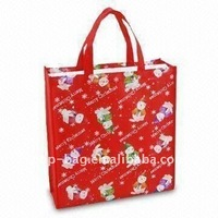 promotional rose shopping tote bag