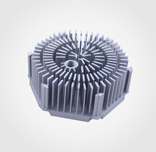 Low price round cxb 3590 pin heatsink