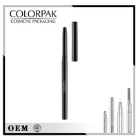 makeup cosmetic pencil for empty eyebrow pencil with waterproof