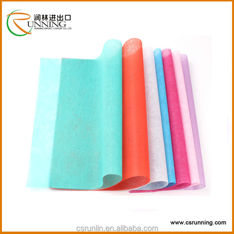 Nonwoven Sisal Fabric sheets for Flower Wrapping