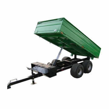 ATV Trailer with Electric Hydraulic Power Unit ,Tractor rear  tipper trailer