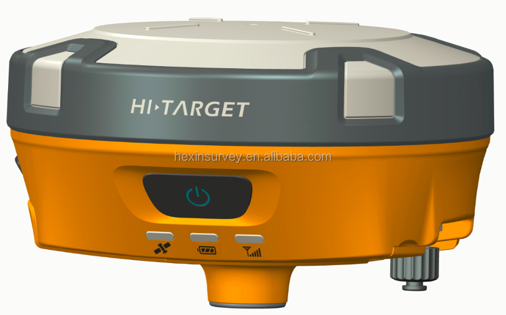 Best selling Hi-target V90 RTK GPS dual frequency surveying instrument base and rover