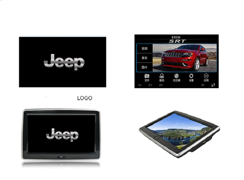 10.1inch Android 4.4.4 OS touch screen car dvd palyer monitor with wifi \3g\mp3 player