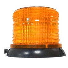 10V-30V Car Warning Light Amber Flashing Strobe Beacon Rotating Emergency Lights