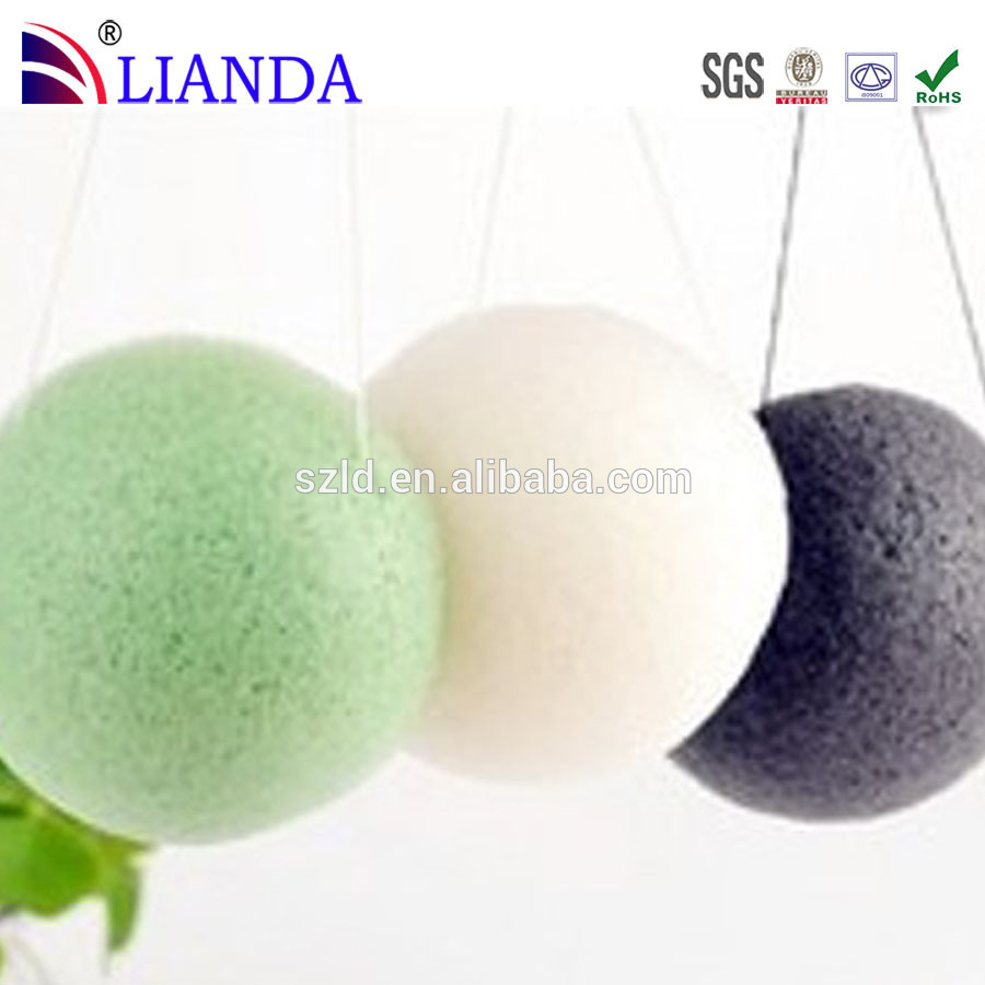 plastic long handle puff mesh bath sponge hot selling on Amazon