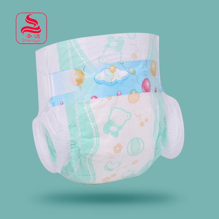 China manufacturer printed pretty newborn baby diapers disposable wholesale