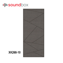 Fabric material eco-friendly fabric wall panels room acoustic for HiFi room,recording studio