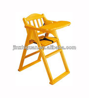 Folding Wooden High chair (FS-P06B)