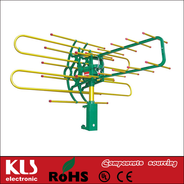 Good quality high power tv antenna UL CE ROHS 049 KLS Brand