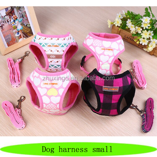 Cute puppy harness, small pet harness, beautiful dog harness small