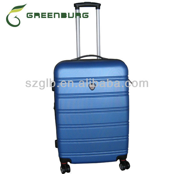 business hard shell trolley case for men