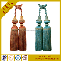 designer home decor beauty rayon tassel curtain tiebacks