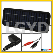 12V 3.5W Poly Silicon Solar Panel Car Battery Charger for Cars / Trucks / Boat / Motorcycle , Size: 32 x 12 x 0.6cm (TX1235)