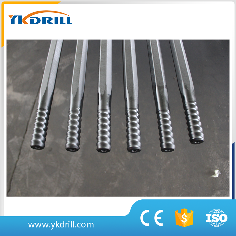 Extention hollow drill rod T38-H35-R32