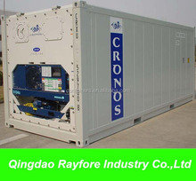 White new Daikin / Carrier / Thermo King genset reefer container cold container