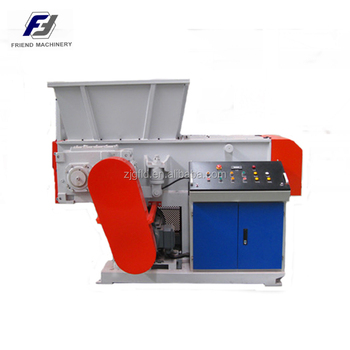 ZSSS-600 shredding Plastic shredder plant pipe shredding machine