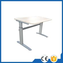 Modern up down function metal manual adjustable table