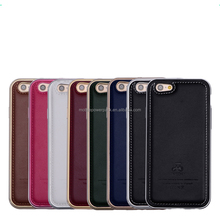 "New Luxury Business Ultra Thin Leather Back Case Cover For iphone 6 Plus 5.5"" Protective Shell"