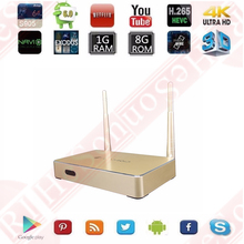 S905 quad core 1+8G android 6.0 wholesale android smart tv set top box