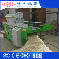 Highly praised wood shaving chipping machine from China