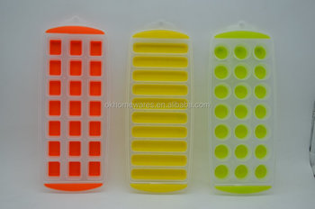 plastic ice mold ice Cube Trays mold shape ice cube mold