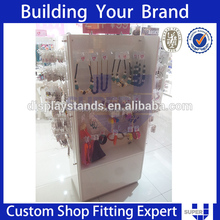 custom made pvc plexiglass earring display stand rack