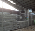 8' x 10' Panelized Mobile Temporary Chain Link Fence