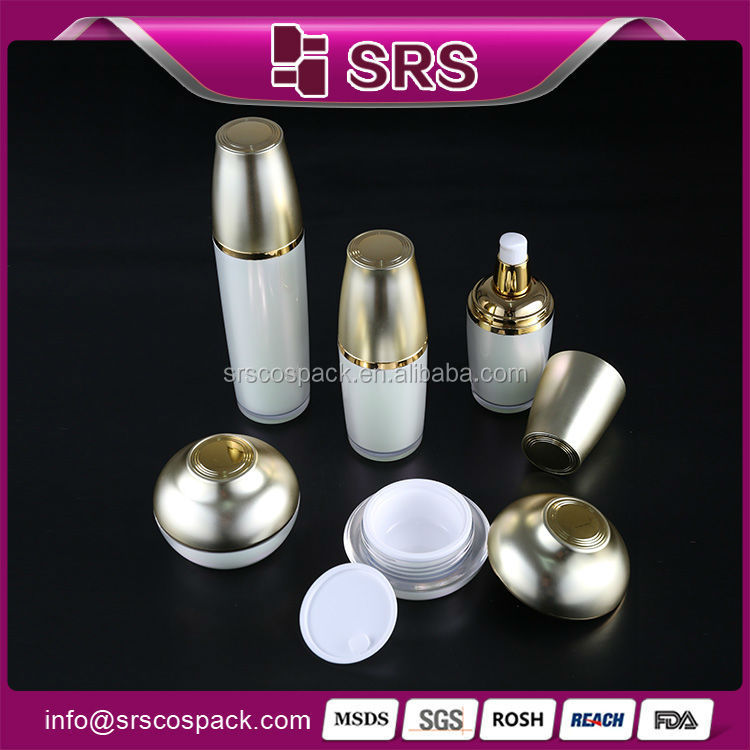 Hot Sell Korea Style Skincare Lotion Bottle And Acrylic Cream Jar Cosmetic Cream Bottle And Jars