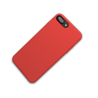 Wholesale cheap good touch feeling shockproof silicone tpu back mobile phone case for iphone