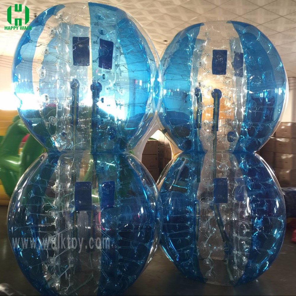 cheap transparent Inflatable bumper ball soccer bubble ball for sale