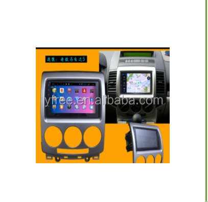 Touch screen for MAZDA 5 2008 Android car dvd players with GPS auto 2 din radio audio double din central multimedia stereo