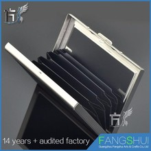 Flexible price plastic business card case