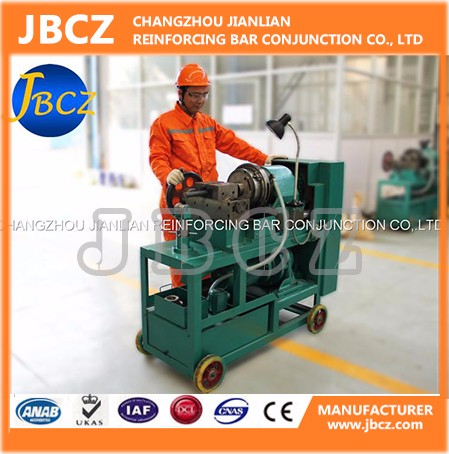 ISO9001 Rebar splicing sleeve &amp rebar thread rolling machine(D12-50mm)