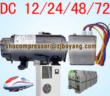 Auto ac electric compressor for rooftop and split airconditioners on commercial trucks prime movers locomotive hvac
