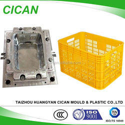 OEM Available Recycling Plastic Turnover Box Plastic Injection Mould Parts