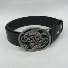 Hot selling custom adjustable fashion metal zinc alloy belt buckle