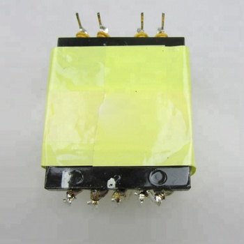 EF Magnet Core type high frequency flyback step down transformer with Rohs