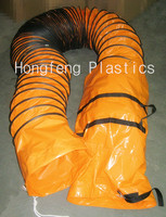 large diameter and corrugated Ventilation flexible air duct with store bag