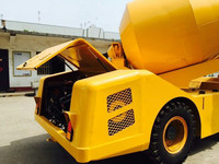 China supplier Mini 3.5m3 self loading concrete mixer truck