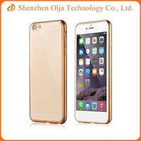 Wholesale custom 0.3mm ultra thin soft TPU mobile phone case for iPhone 6