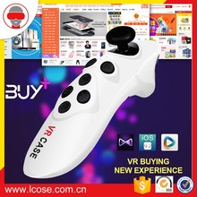 VR CASE smartphone gamepad with flymouse function support for android gamepad bluetooth remote
